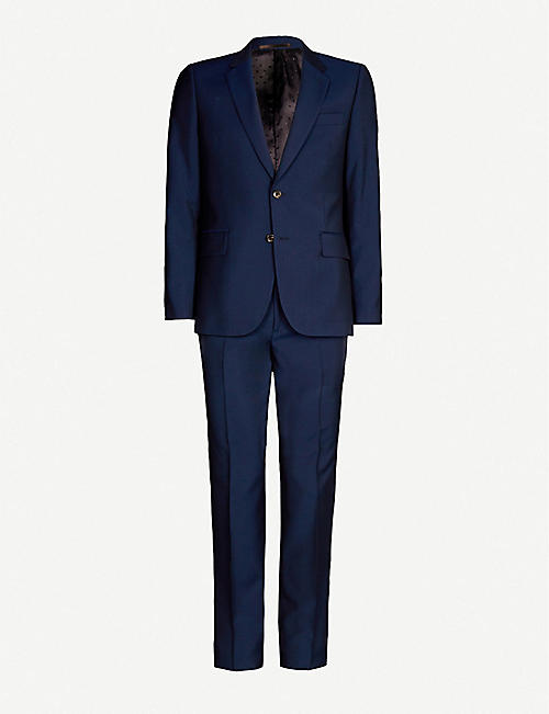 cf9d2e136 PAUL SMITH Soho-fit wool and mohair-blend travel suit