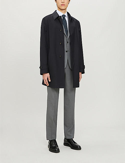 PAUL SMITH Soho-fit single-breasted wool suit