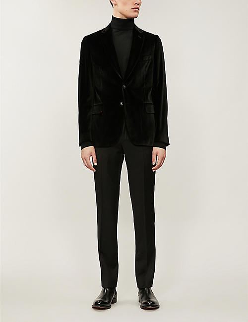 PAUL SMITH Soho-fit velvet blazer