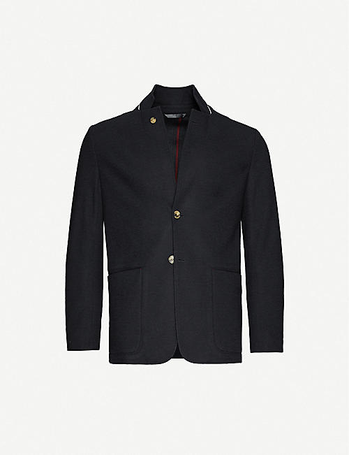 PAUL SMITH Tailored wool-blend blazer