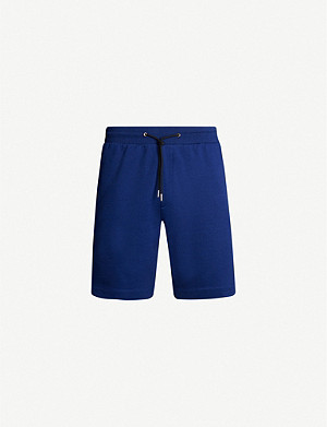 PAUL SMITH Regular-fit striped cotton shorts