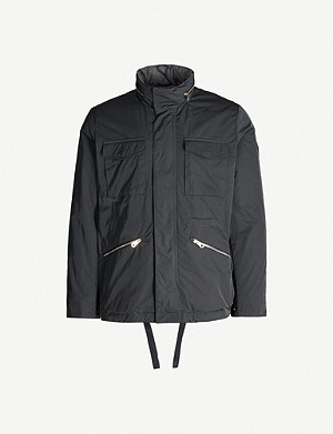 PAUL SMITH Funnel-neck shell coat