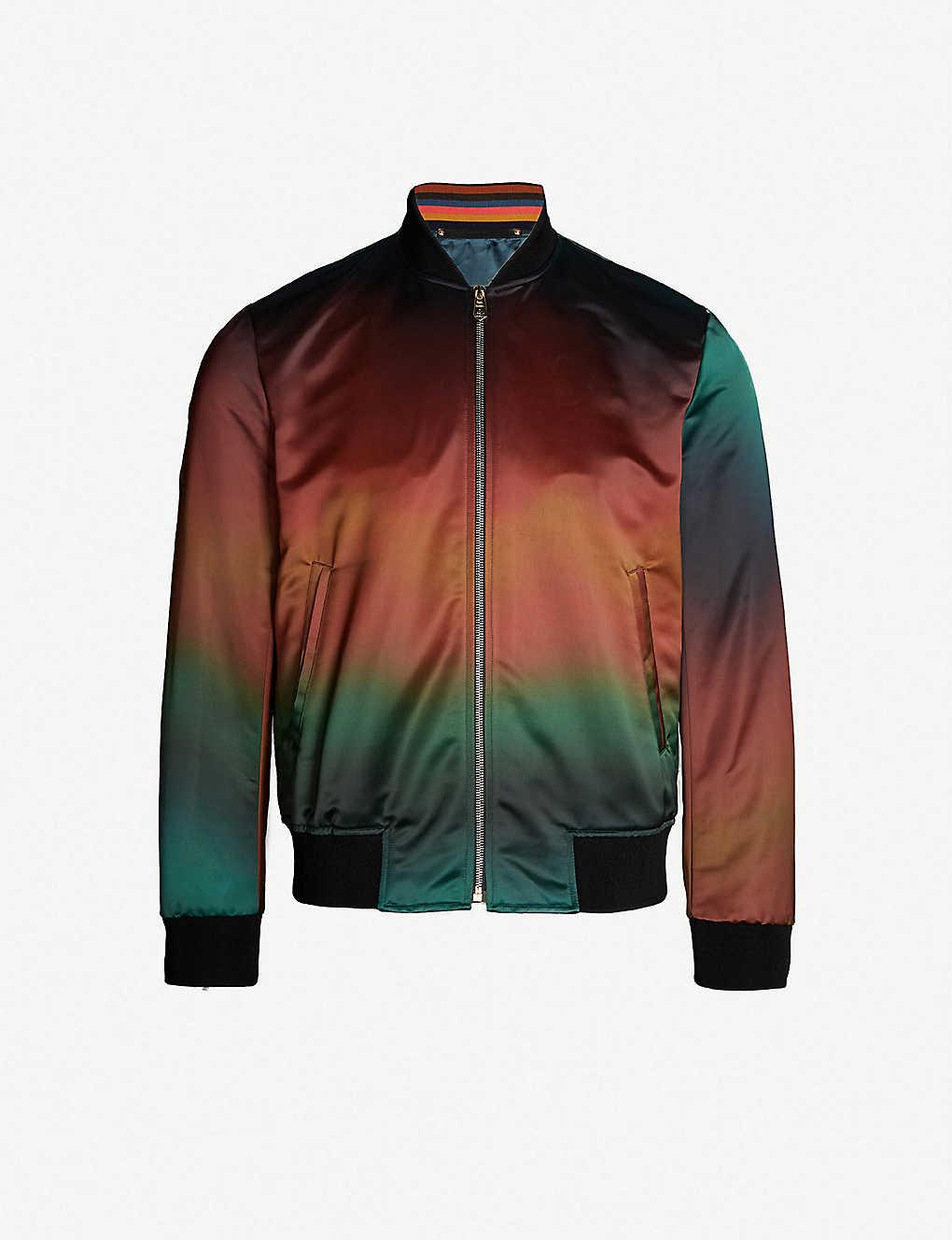 e3d7cace2b2 PAUL SMITH - Tie-dye satin bomber jacket   Selfridges.com