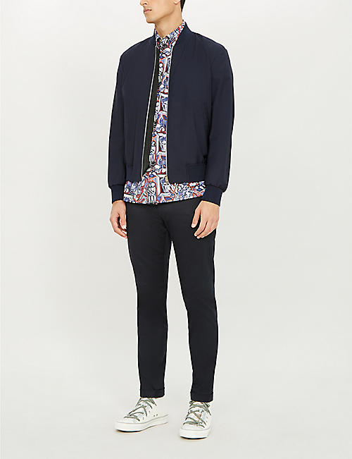 PAUL SMITH Storm wool bomber jacket