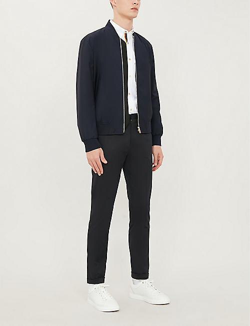 PAUL SMITH Tailored-fit cotton oxford shirt