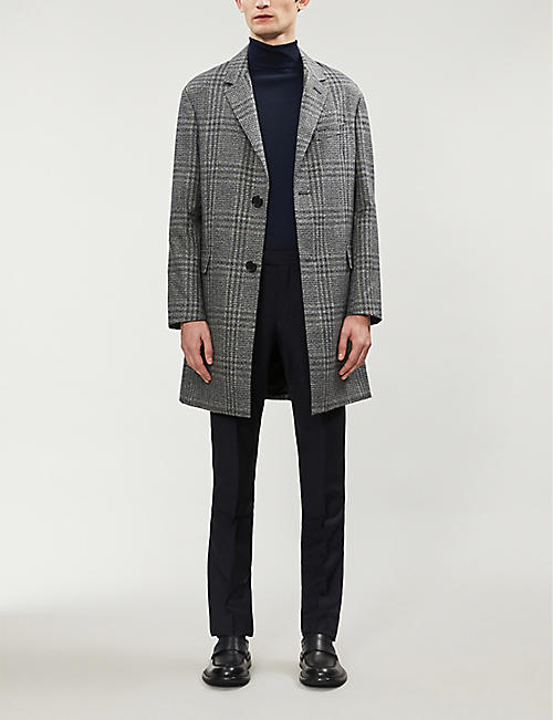 PAUL SMITH Soho-fit wool and mohair-blend trousers