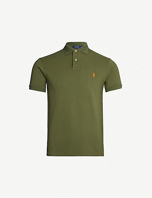 WENL Good Vibes Deer Mens Soft Cotton Fashion Polo Shirt