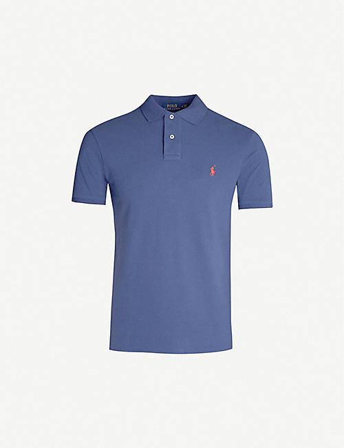 5dcb1bc8c POLO RALPH LAUREN Logo-embroidered cotton-piqu? polo shirt