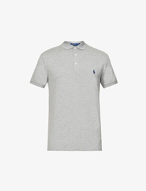 POLO RALPH LAUREN Slim-fit cotton-piqu? polo shirt