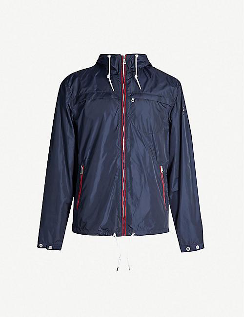 023a461b POLO RALPH LAUREN Contrast-trim shell hooded jacket