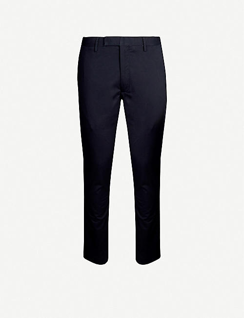 POLO RALPH LAUREN Slim-fit stretch-cotton straight-leg trousers