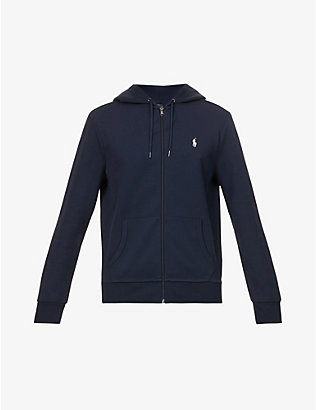 POLO RALPH LAUREN: Logo zip-up hoody