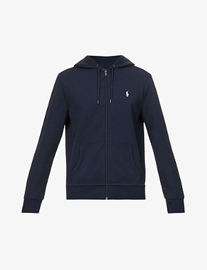 POLO RALPH LAUREN Logo zip-up hoody
