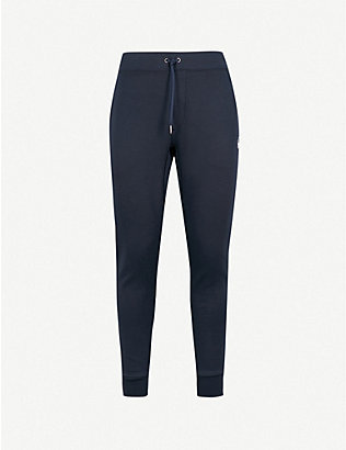 POLO RALPH LAUREN: Skinny jersey jogging bottoms