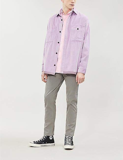 08a9ad9e10 POLO RALPH LAUREN Standard-fit featherweight cotton-piqué shirt