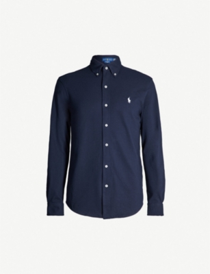 POLO RALPH LAUREN Regular-fit cotton-jersey shirt