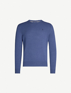 POLO RALPH LAUREN Knitted merino wool jumper