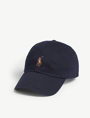 POLO RALPH LAUREN Pony cotton baseball cap