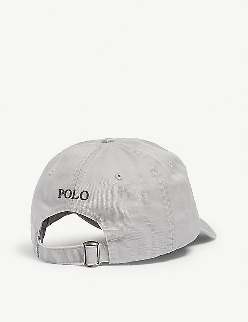 POLO RALPH LAUREN Logo-embroidered cotton cap