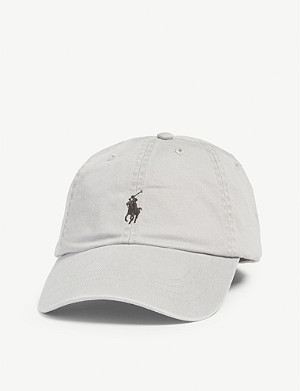 9966b7b47a74c POLO RALPH LAUREN - Logo-appliquéd woven baseball cap