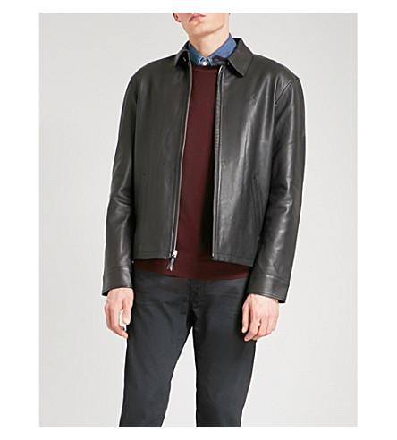 6d418285ae1e ... POLO RALPH LAUREN Maxwell leather jacket (Polo+black. PreviousNext