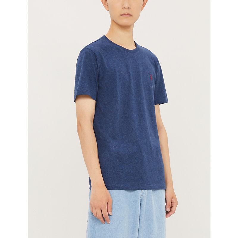 Polo Ralph Lauren T-shirts SLIM-FIT CREWNECK COTTON-JERSEY T-SHIRT