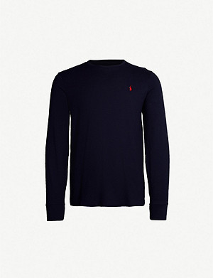 POLO RALPH LAUREN Custom slim-fit cotton-jersey top