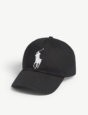 POLO RALPH LAUREN Embroidered logo cotton cap