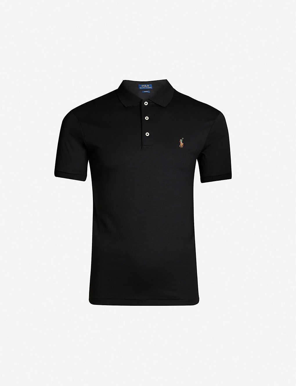 a82881d93adeb0 POLO RALPH LAUREN - Pima Soft Touch cotton polo shirt | Selfridges.com