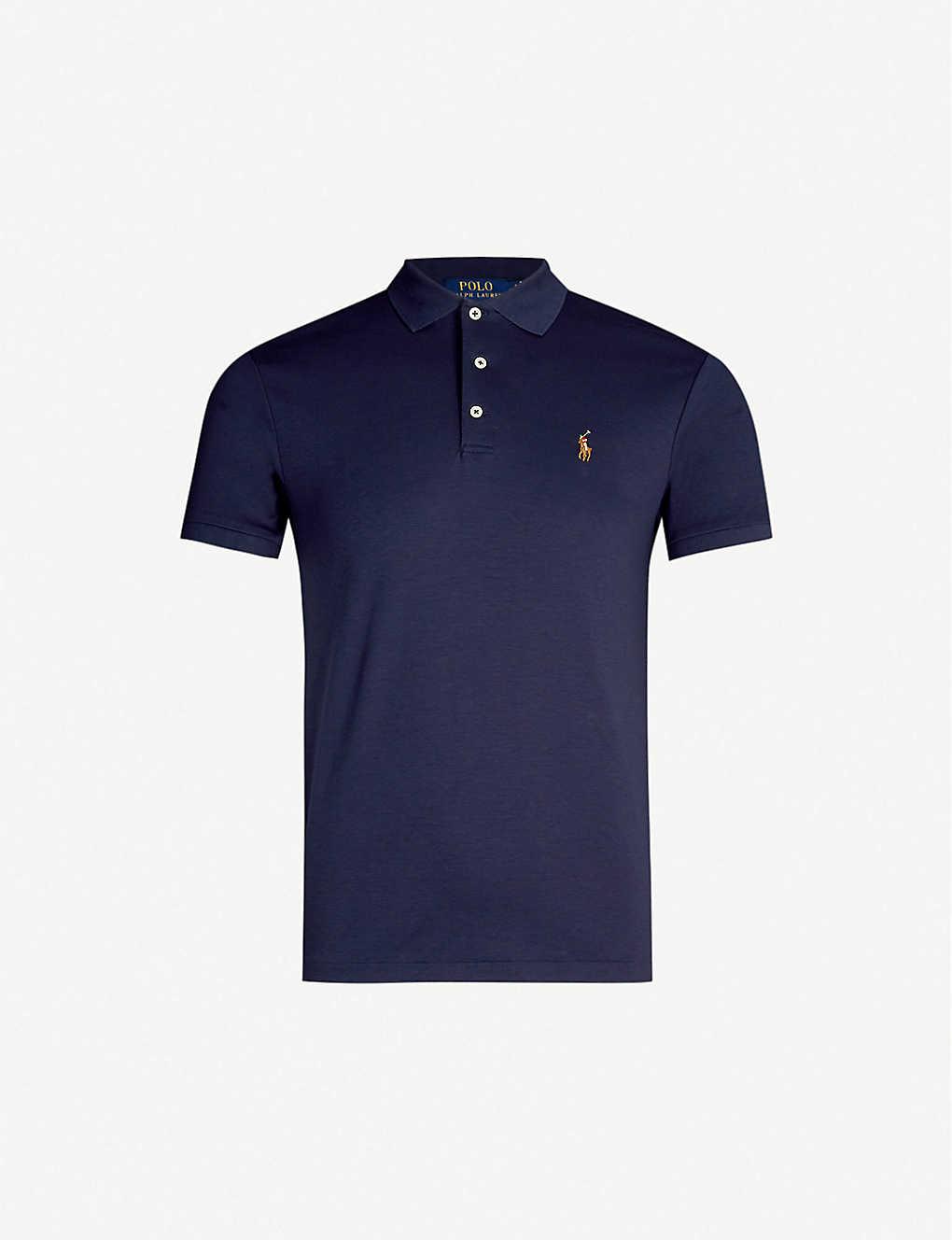 ccee3409 POLO RALPH LAUREN - Pima Soft Touch cotton polo shirt   Selfridges.com