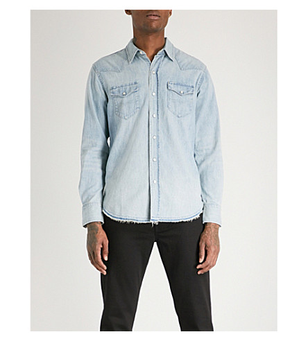 b6bcf85a28f Slim Fit Denim Shirt Polo Ralph Lauren kuvat - Kritische Theorie