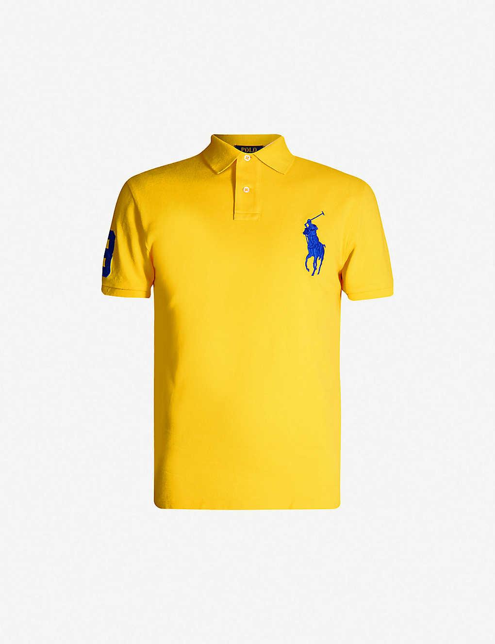 65ad9b96e POLO RALPH LAUREN - Logo-embroidered cotton-piqu  polo shirt ...