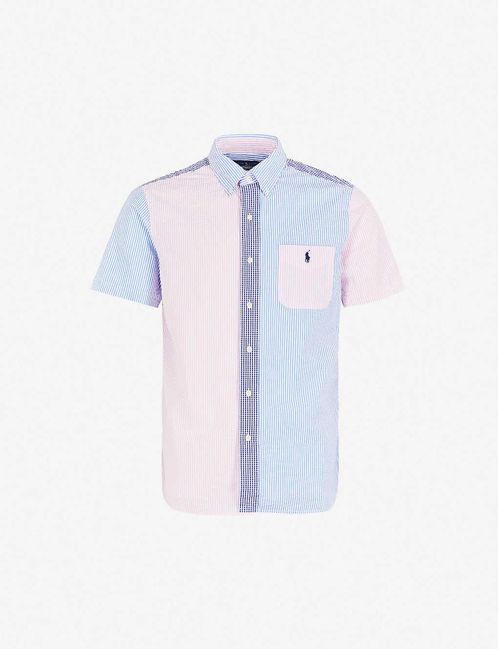 6ef506d7b POLO RALPH LAUREN - Fun patterned custom-fit cotton seersucker shirt ...