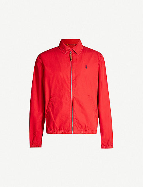 b9514cb84bb0 POLO RALPH LAUREN Bayport cotton-twill jacket