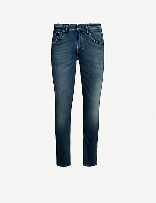 POLO RALPH LAUREN: Eldridge faded slim jeans