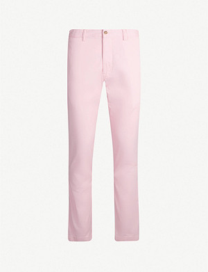 POLO RALPH LAUREN Bedford slim-fit stretch-cotton trousers