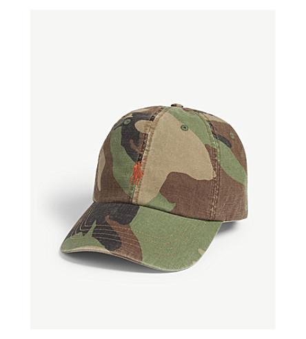 035bc794aee ... POLO RALPH LAUREN Camouflage Pony baseball cap (Surplus+camo.  PreviousNext