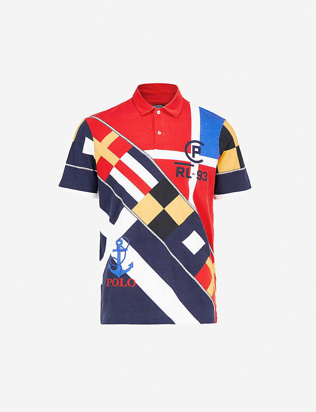 ad4ae6d8b POLO RALPH LAUREN - CP-93 regatta cotton-jersey polo shirt ...