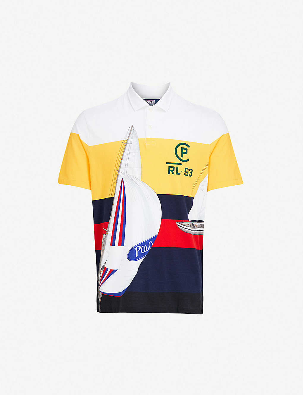 Ralph Cp Polo Lauren Regatta Cotton Jersey 93 Shirt TFJlK1c