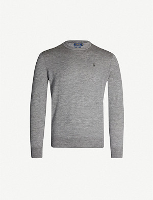 POLO RALPH LAUREN Crewneck wool jumper