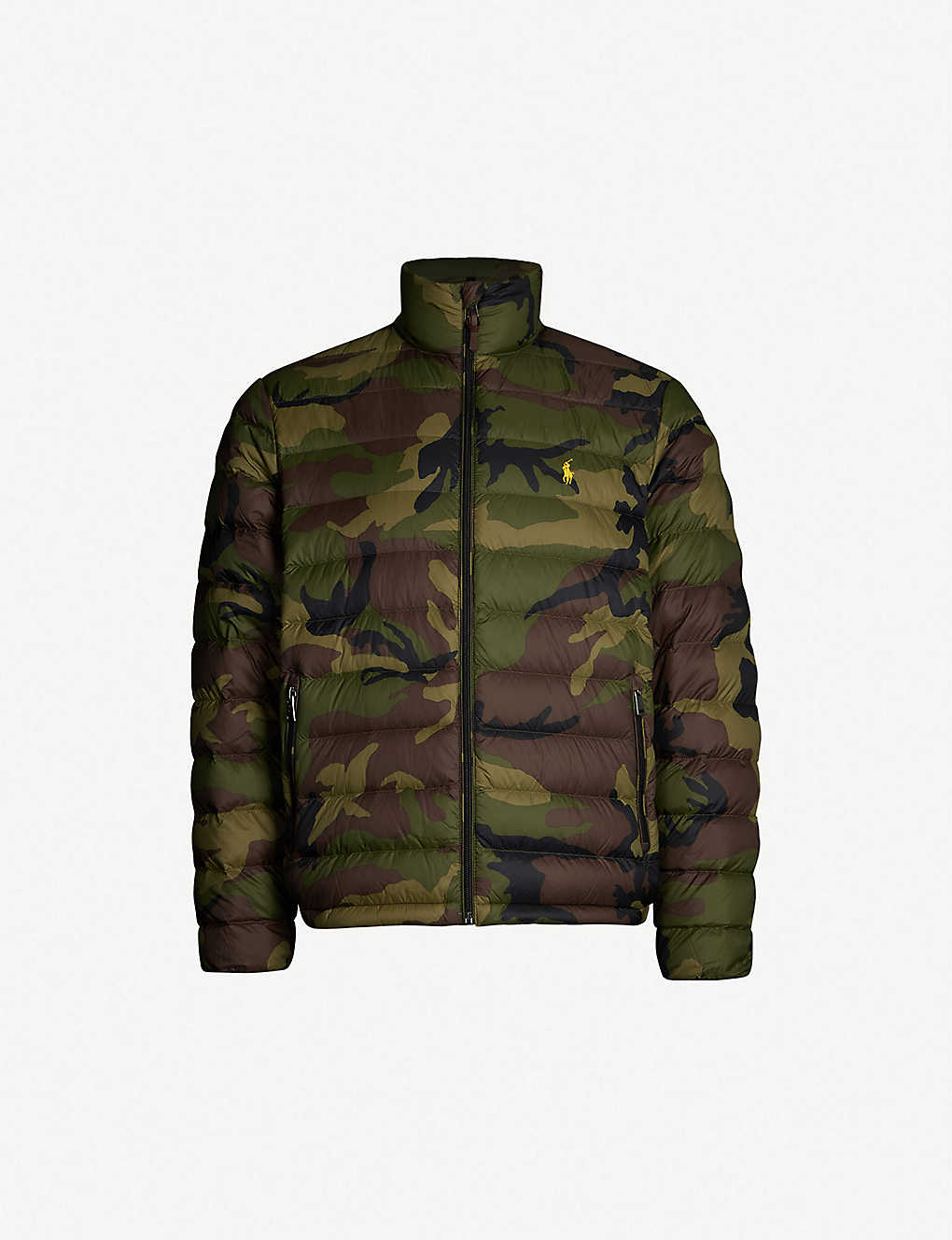 afc505130 POLO RALPH LAUREN - Bleeker camouflage-patterned shell-down jacket ...