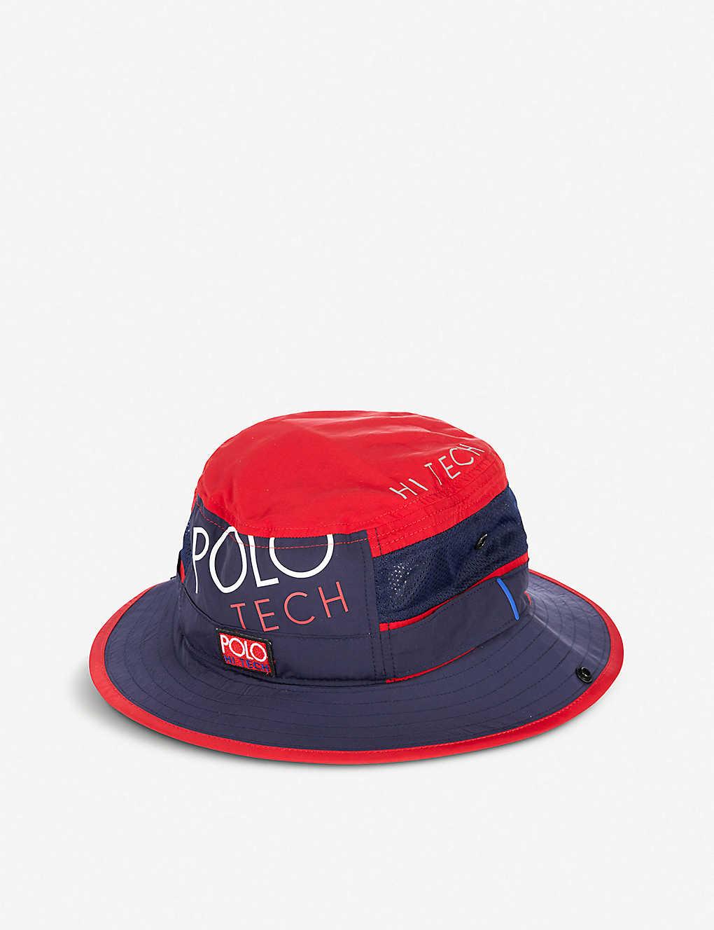 f00005164bd8d Hi Tech Booney shell and mesh hat - Newport navyred ...