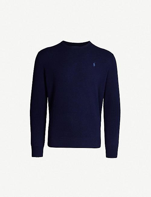 1cd1337242b0 POLO RALPH LAUREN Logo-embroidered cashmere jumper