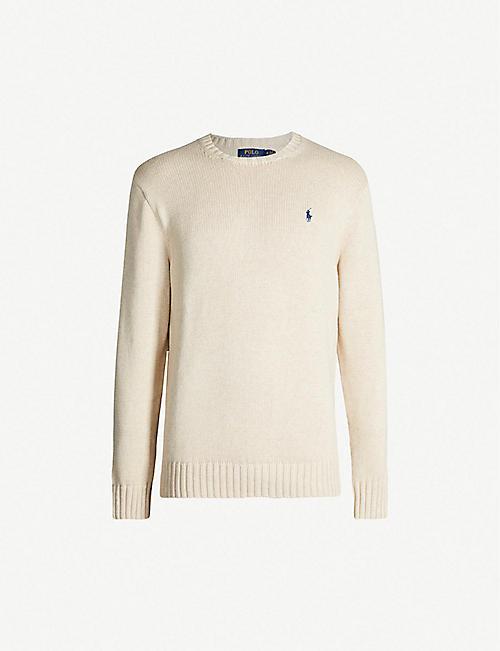 b5f88163b2a4fc POLO RALPH LAUREN - Knitwear - Clothing - Mens - Selfridges | Shop ...