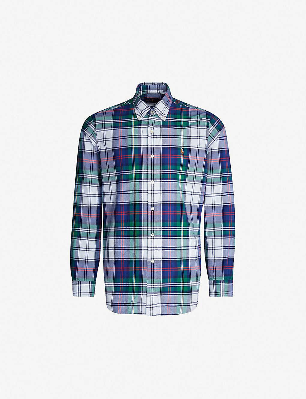 921275b4 POLO RALPH LAUREN - Checked slim-fit cotton shirt | Selfridges.com
