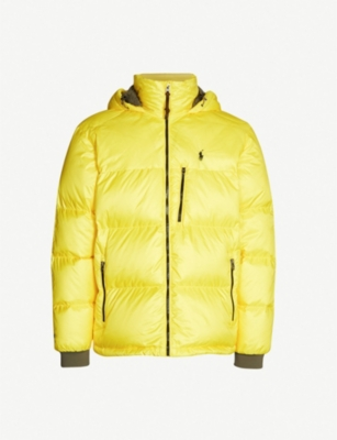POLO RALPH LAUREN Jackson printed shell and down-blend jacket