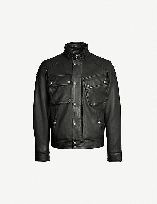 d536815c Leather jackets - Coats & jackets - Clothing - Mens - Selfridges ...