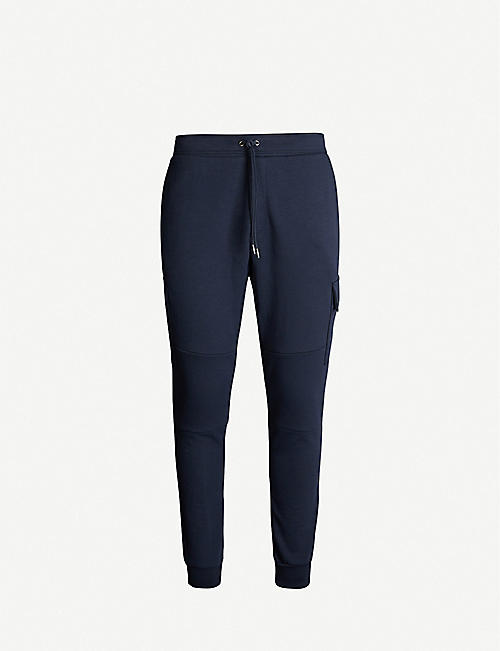 POLO RALPH LAUREN: Cargo-pocket jersey jogging bottoms