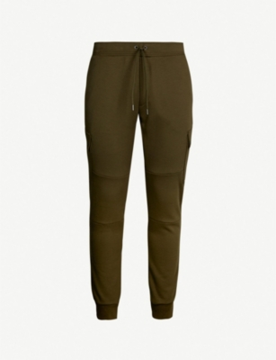 POLO RALPH LAUREN Stretch-jersey cargo jogging bottoms