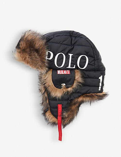 15485e4378 POLO RALPH LAUREN Winter Stadium 1992 Explorer shearling hat